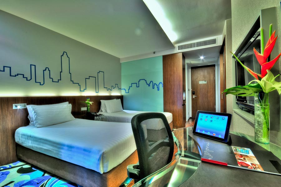 twin rooms sukhumvit twin and double rooms available